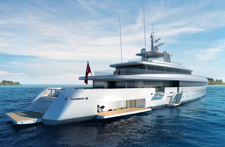 yacht design in progress