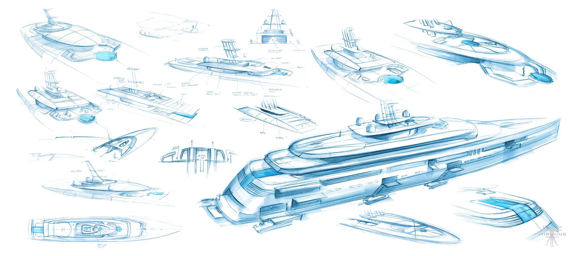 130m vitruvius yacht