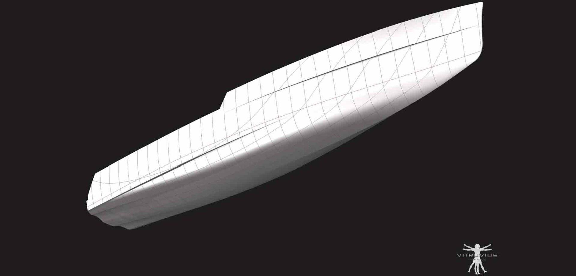 sustainable yacht design - the optimised bow
