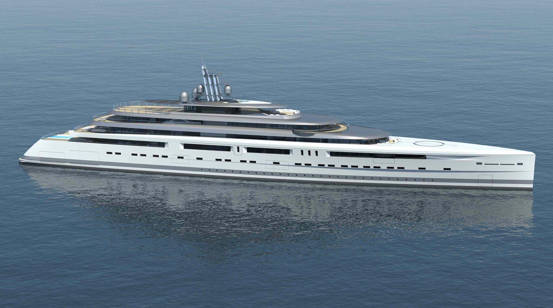 105 mega yacht