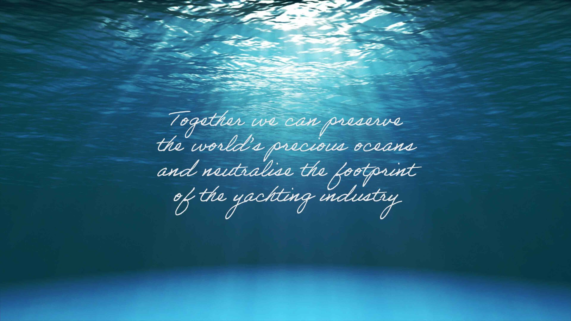 quote about sustainable yacht design