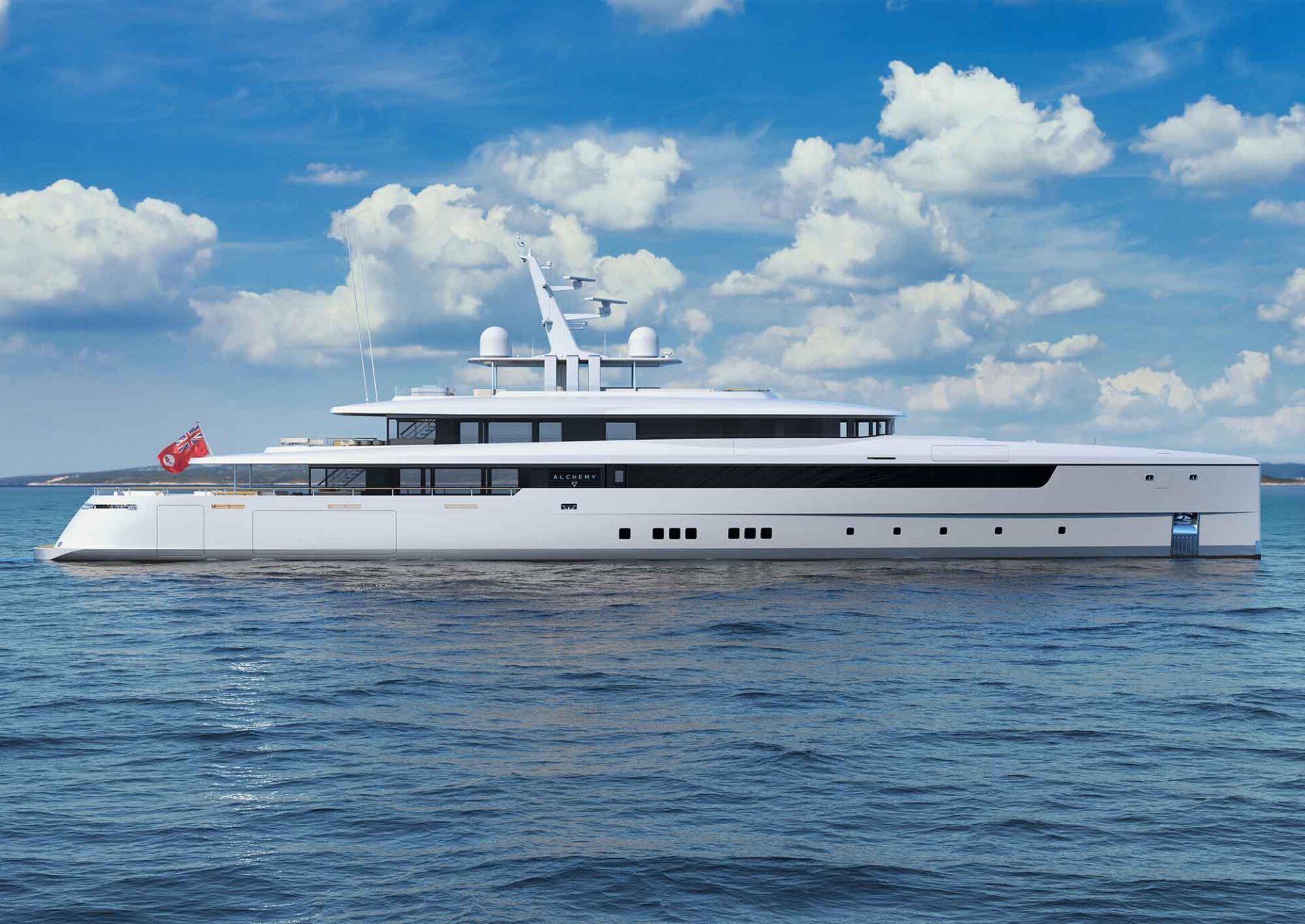 66m metre motor yacht