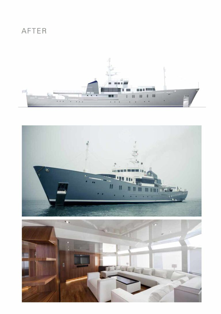 after the superyacht refit