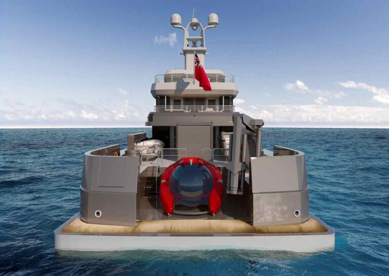 shinkai motor yacht - feadship and vitruvius
