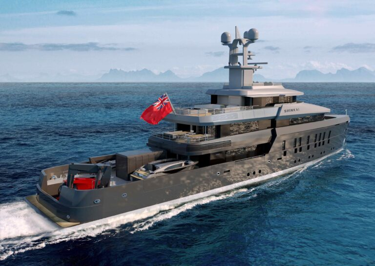 Shinkai yacht - vitruvius yachts